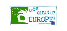 Logotip Let's clean Europe